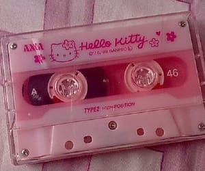 hello kitty, pale, and pink image