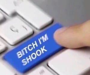 meme, shook, and reaction image