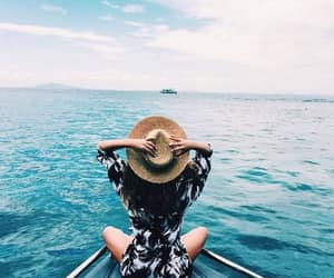 blue, sea, and travelgoals image