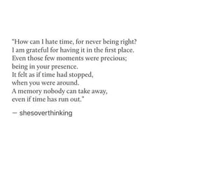 anxiety, time, and love quotes image
