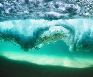 aqua, blue, and ocean image