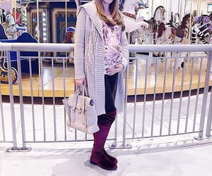 fashion, pregnancy, and pregnant image
