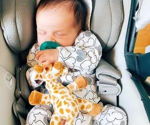 baby, sleeping, and cute image