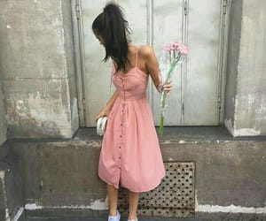 sahar luna, pink, and dress image