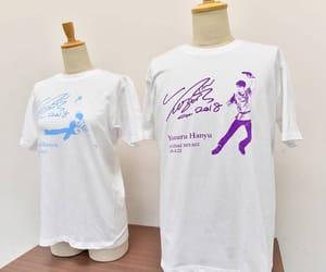 figure skating, yuzuru hanyu, and t-shirt image