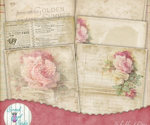 etsy, gift tags, and scrapbook paper image