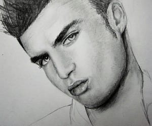 парень, рисунок, and артбук image