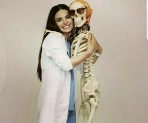 girl, medicine, and happy image