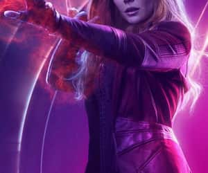 Marvel, Avengers, and elizabeth olsen image
