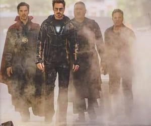 Hulk, iron man, and Marvel image