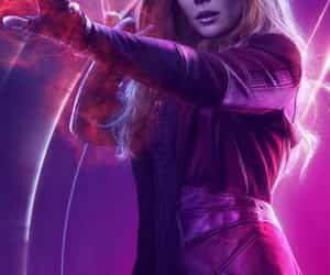 Marvel, Avengers, and elizabeth olsen image