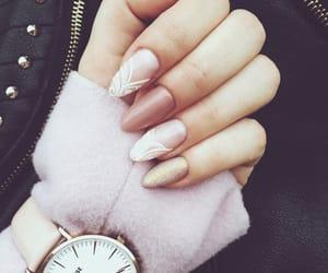 hybrid, nails, and pastel image