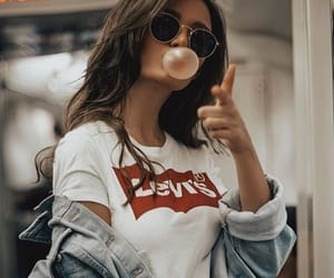 girl, style, and levis image
