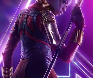 Marvel, infinity war, and okoye image