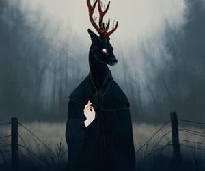 background and dark image