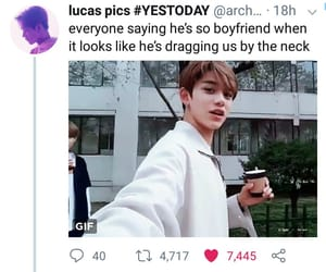 funny, lucas, and kpop image