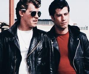 grease, John Travolta, and boy image