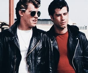 grease, boy, and John Travolta image