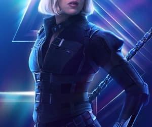 Avengers, Marvel, and natasha romanoff image
