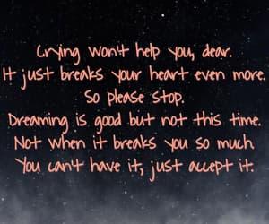 broken, stop, and broken heart image