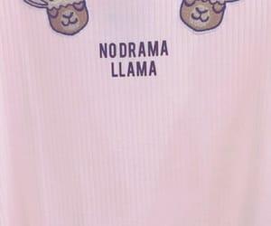 aesthetic, drama, and llama image