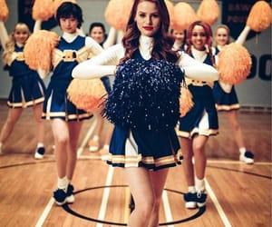 riverdale, cheryl blossom, and cheerleader image