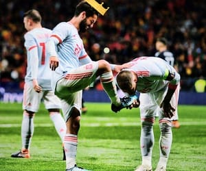 king, sergio ramos, and isco image