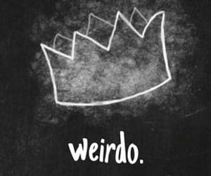 weirdo, crown, and riverdale image