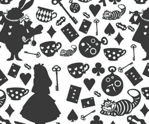 alice in wonderland, disney, and wallpaper image