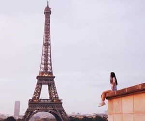 city, colors, and france image
