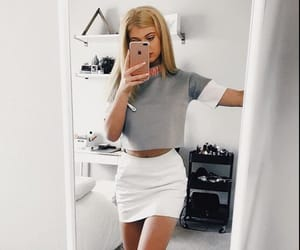 fashion, outfit, and loren gray image
