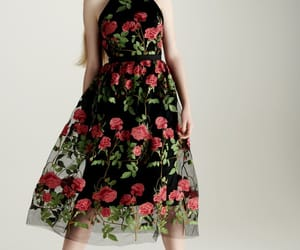 belleza, floral, and moda image