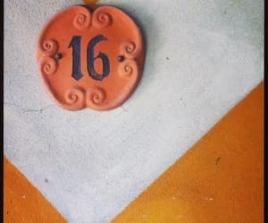 numbers, orange, and photography image