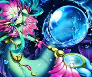 beauty, mermaid, and league of legends image