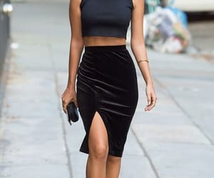 fashion, emily ratajkowski, and black image