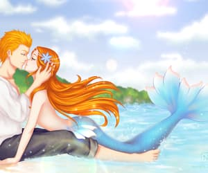 bleach, fanart, and ichihime image