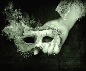 mask and lace image