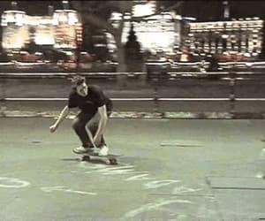 gif, skate, and skateboard image