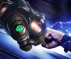 thor, avengers infinity war, and thanos image