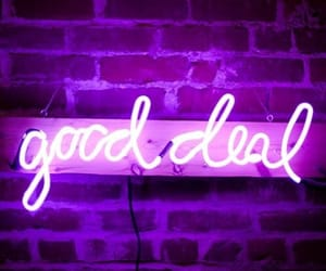 neon, beautiful, and purple image