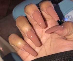 acrylics, peng, and nails image