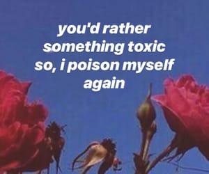 lyric, sky, and sad text image