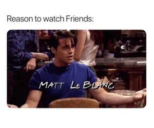 matt le blanc, series, and friends image