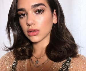 dua lipa, beauty, and singer image