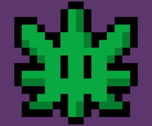 420, green, and pixels image