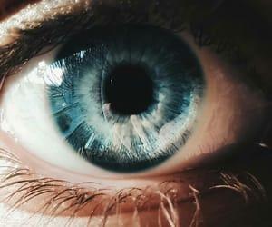 art, close up, and eye image