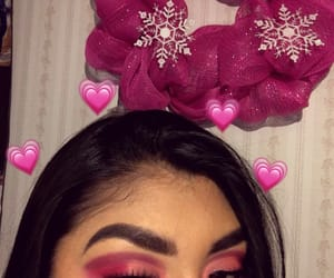 eyebrows, hearts, and looks image