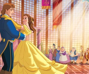 beauty and beast, disney, and love image