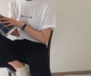 casual, clothing, and minimalist image