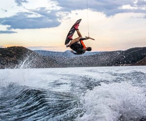 adventure, swimming, and wakeboarding image